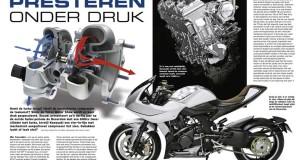 Turbomotoren bij motorfietsen