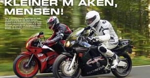 Klassiek: Honda CBR250RR vs. Honda VFR400R