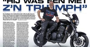 Mijn Trots – Nico Koene en zijn Speed Triple