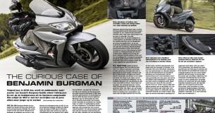 Compacttest Suzuki Burgman 400