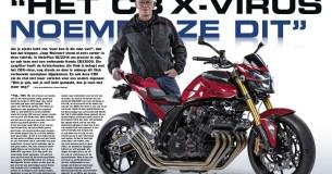 Joop Walvoort en zijn Honda CBX1000