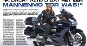 Mijn Trots – Brenda Hans en haar Honda ST1300 Pan European