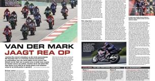 WK Superbike Portimao Portugal: Van der Mark jaagt Rea op