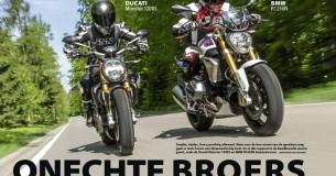 Vergelijkingstest BMW R1250R – Ducati Monster 1200S