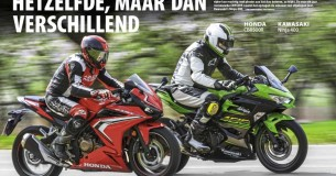 Vergelijkingstest Honda CBR500R – Kawasaki Ninja 400