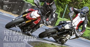 Vergelijkingstest Ducati Hypermotard 950 SP – KTM 690 SMC R