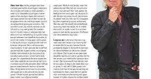 Hugo Pinksterboer – Lorenzo bedankt!
