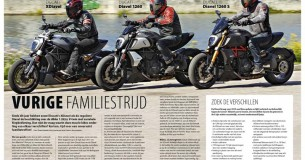 Vergelijkingstest Ducati Diavel-familie