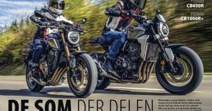 Vergelijkingtest Honda CB650 – CB1000R
