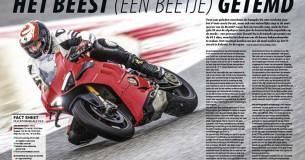 Eerste Test Ducati Panigale V4S