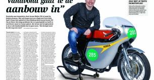 Jeroen Meijer – Honda 250 racer replica