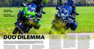 Vergelijkingstest Kawasaki Versys 1000 – Versys 1000SE