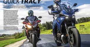 Oud versus nieuw: Yamaha Tracer 700