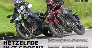 Vergelijkingstest Kawasaki Z400 – Honda CB500F