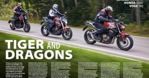 Vergelijkingstest Benelli Leoncino 500 – Voge 500R – Honda CB500F