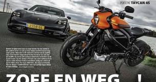 Rij-impressie Harley-Davidson LiveWire – Porsche Taycan 4S