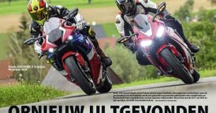 Oud versus nieuw: Honda Fireblade