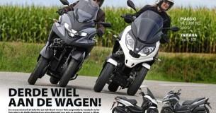 Vergelijkingstest Yamaha Tricity 300 – Piaggio MP3 300 HPE Sport