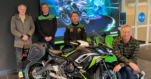 Samenwerking Kawasaki Benelux en Motoshare