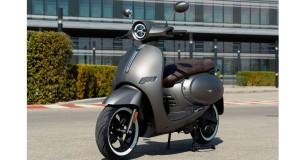 Elektrische scooter uit Bologna