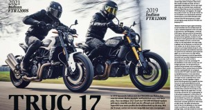 Oud tegen nieuw: Indian FTR1200S