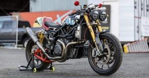 Indian FTR1200S omgebouwd voor One Motorcycle show!