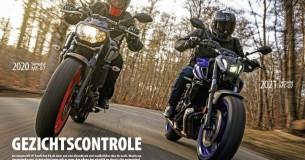 Oud vs. nieuw: Yamaha MT-07