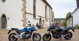 Oud versus nieuw: Honda NC750X