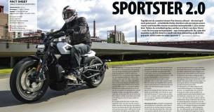 Eerste Test Harley-Davidson Sportster S