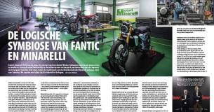 Fabrieksbezoek Fantic/Minarelli