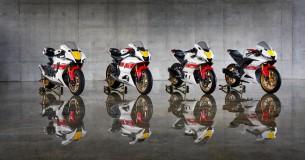 De World GP 60th Anniversary modellen van Yamaha