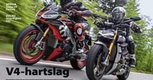 Vergelijkingstest Aprilia Tuono V4 Factory – Ducati Streetfighter V4S