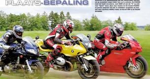 BMW R1200S-Ducati 999-Suzuki SV1000S