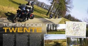 Roadbook-tour door Twente