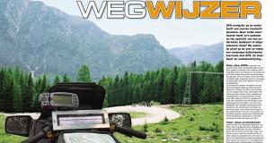 Toeren door Europa met een GPS-systeem