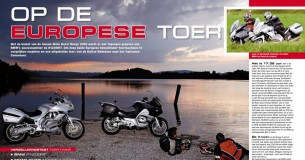 BMW R1200RT – Moto Guzzi Norge 1200GT