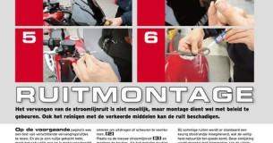 Test kuipruitjes voor Honda Fireblade