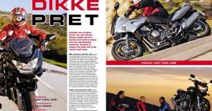 Honda CBF1000-Kawasaki ZRX1200R-Suzuki Bandit1200S