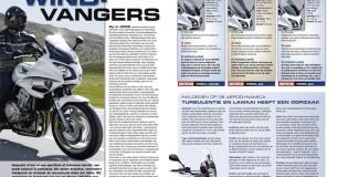 Test 8 ruiten voor de Honda CBF1000