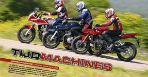 Honda CB1300S-Suzuki Bandit 1200S-Yamaha FZ1 Fazer