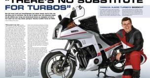 Mijn Trots Ger van den Berg en zijn Yamaha XJ650 Turbo