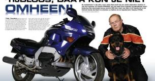 Mijn Trots Johan Kole en zijn Yamaha GTS1000
