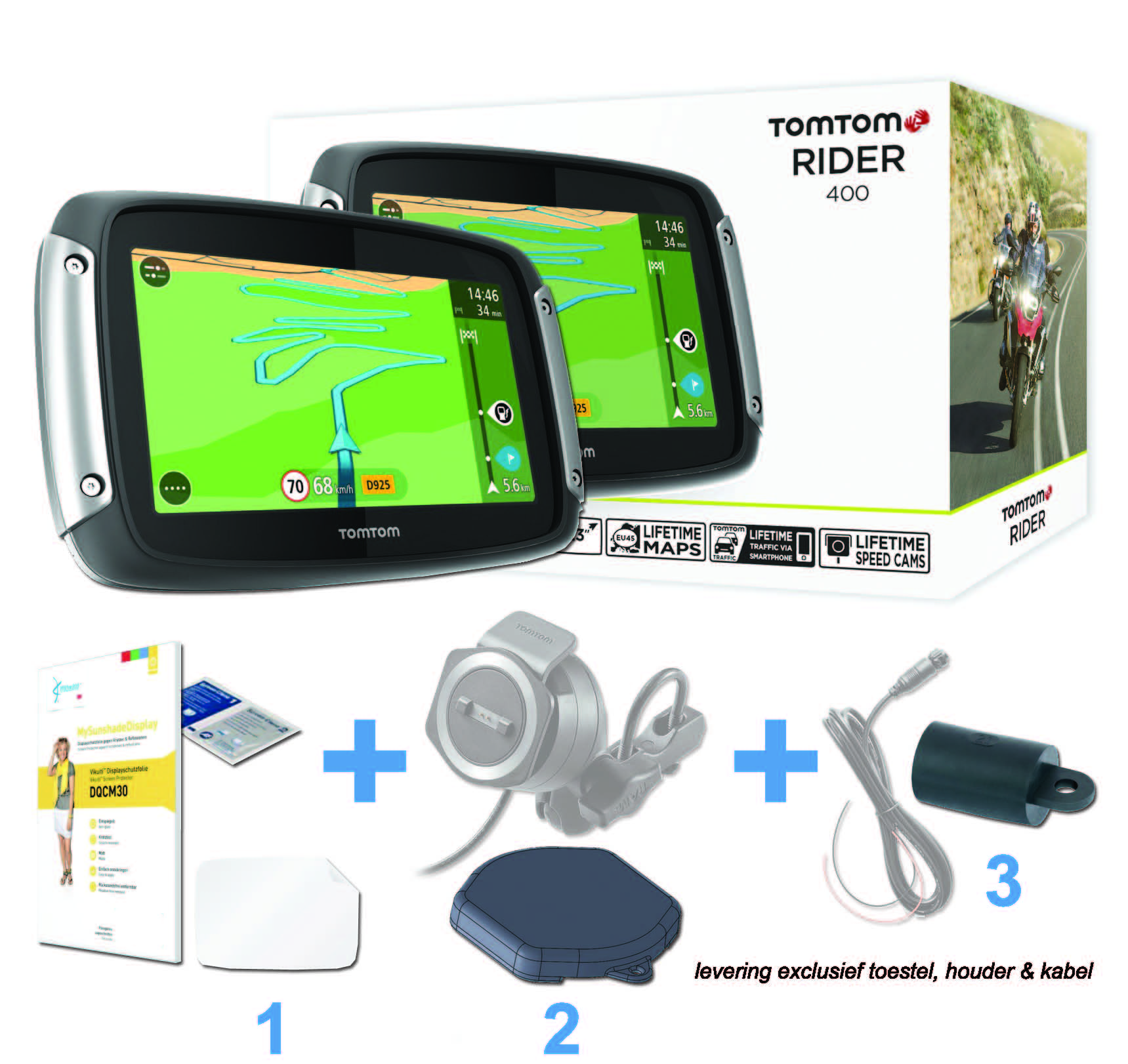 tomtom rider essential kit motoplus. Black Bedroom Furniture Sets. Home Design Ideas