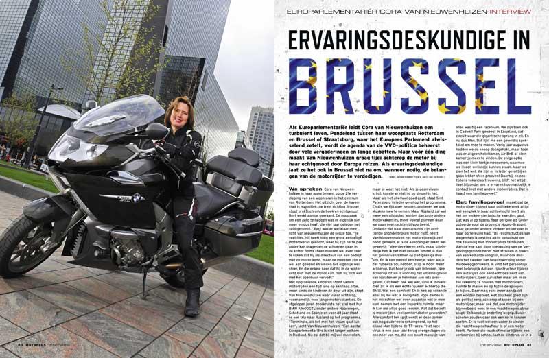 Interview Nieuwe Minister Van Infrastructuur Cora Van
