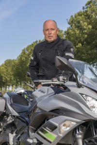 Lezerstest Kawasaki Peter Strijbis