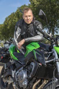Lezerstest Kawasaki Wim van de Kolk
