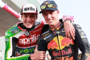 Aleix en Pol Espargaro in Qatar. Foto: Gold and Goose
