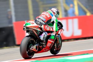 Aleix Espargaro tijdens de MotoGP in Assen. Foto: Gold and Goose